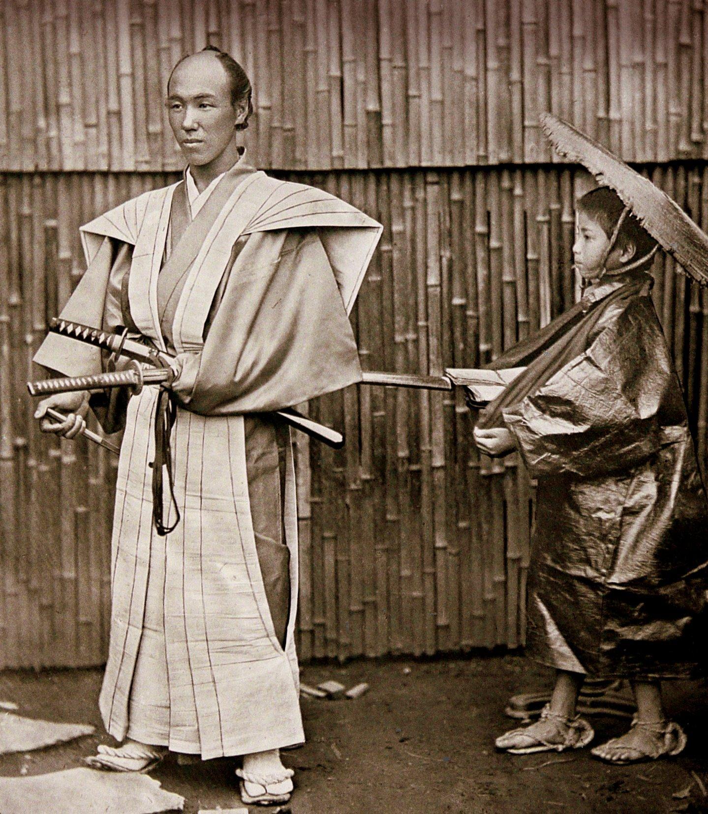 Old samurai by Okinawa Soba