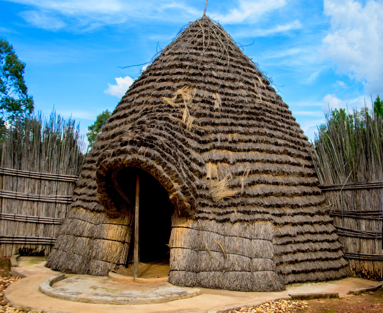Reconstruction trad hut