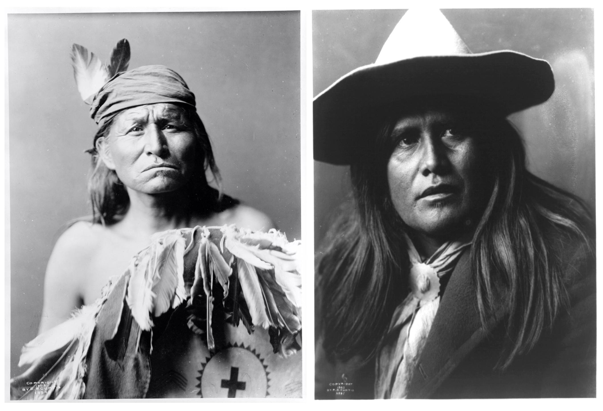 Apache portraits