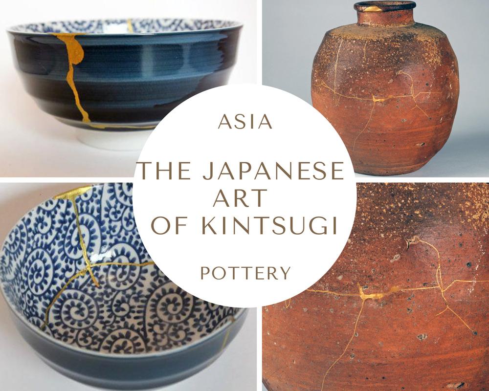 Asia Pottery KINTSUGI