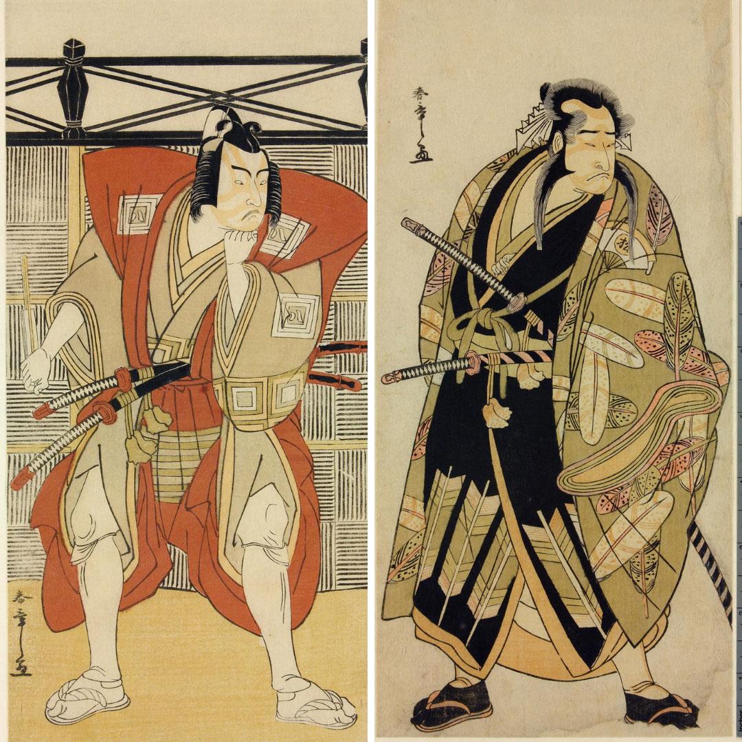 Woodblock Kabuki