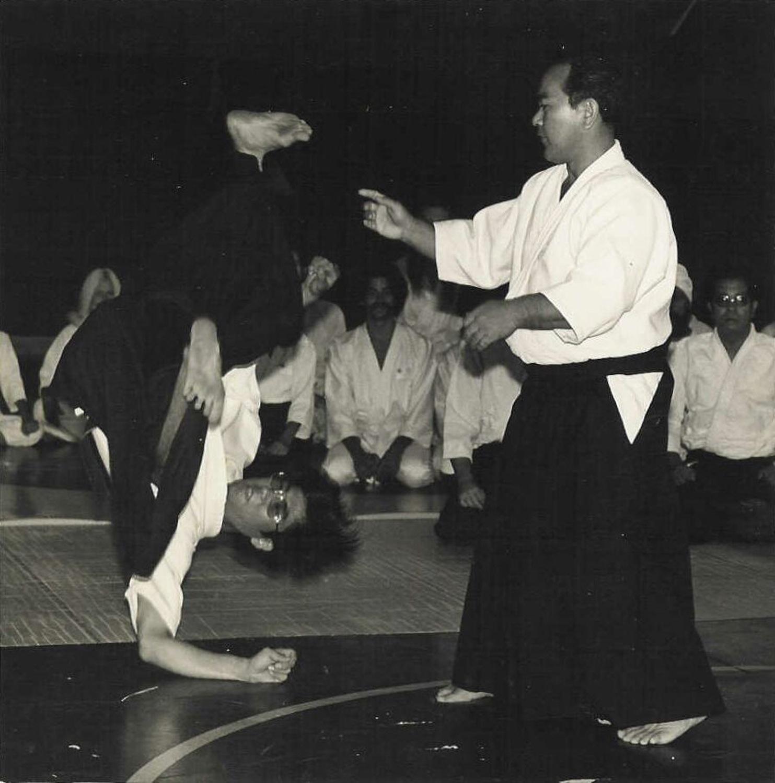 Jon Takagi and Koichi Tohei