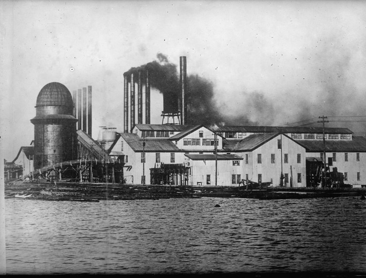 LUMBER MILL IN PEARSON