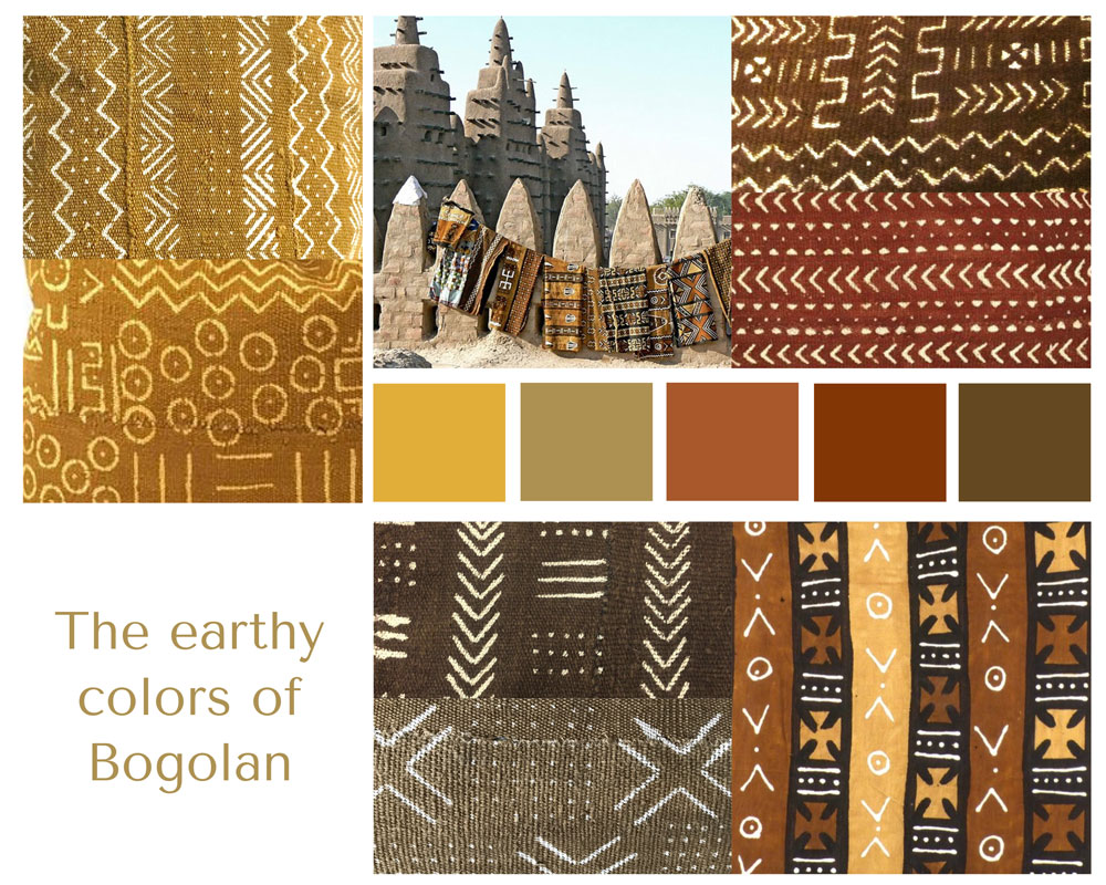 The many colors of Bogolan
