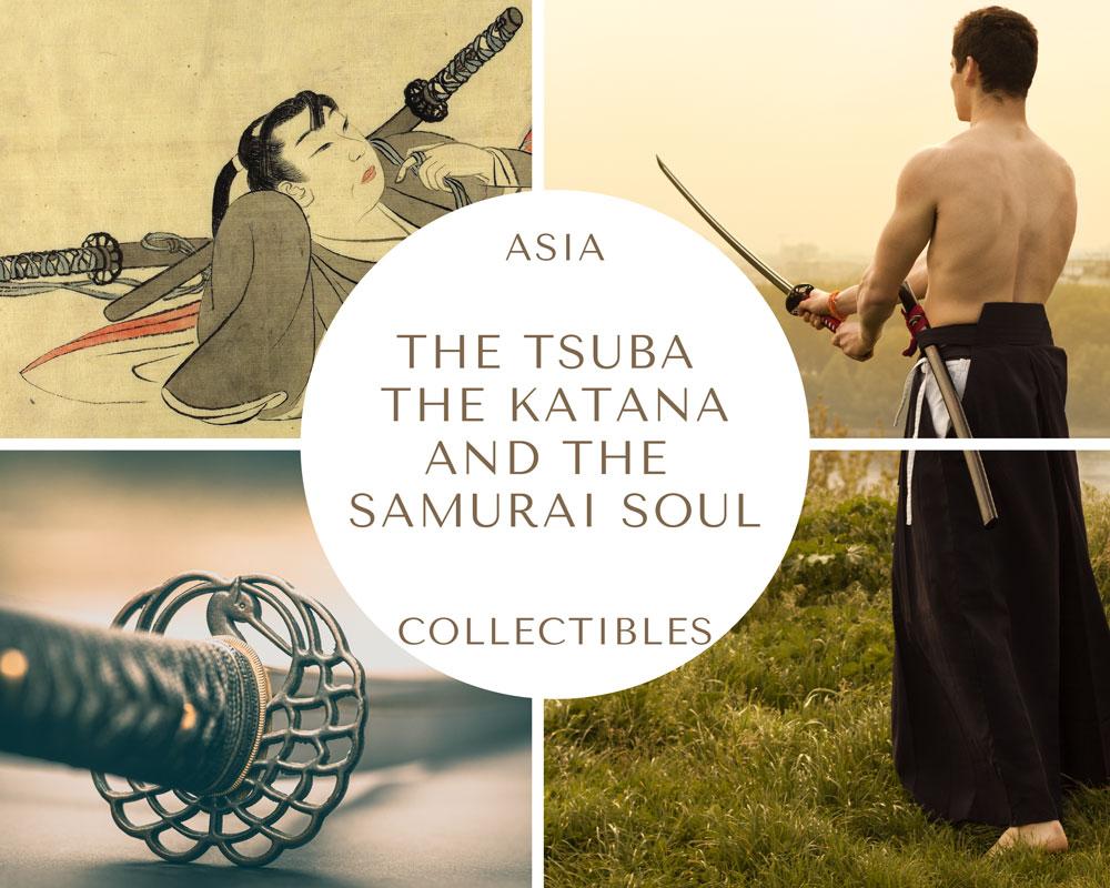 Tsuba Katana Samurai Soul