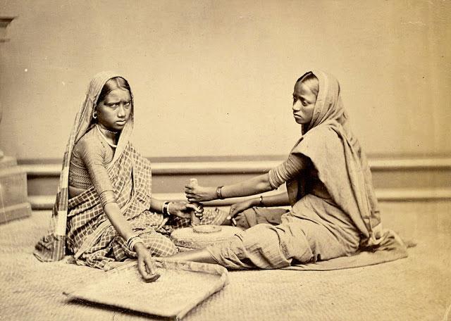 Two Women Grinding