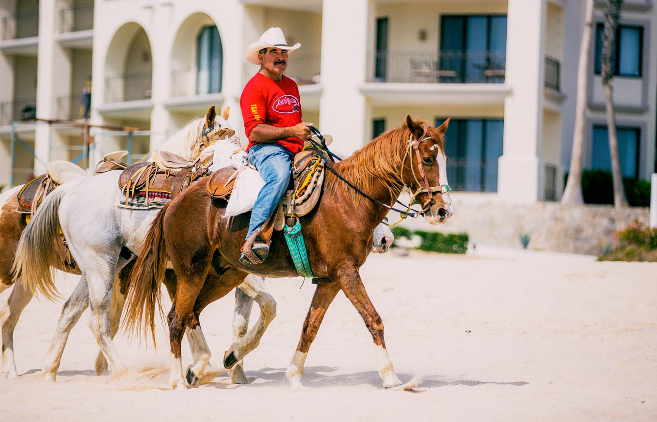 Vaquero 3 caballos