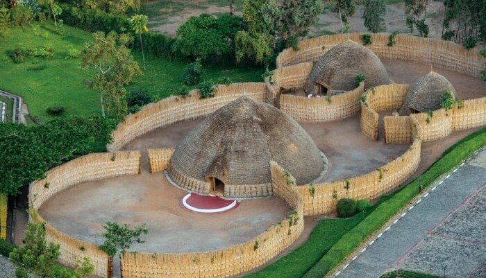 Nyanza Palace from above